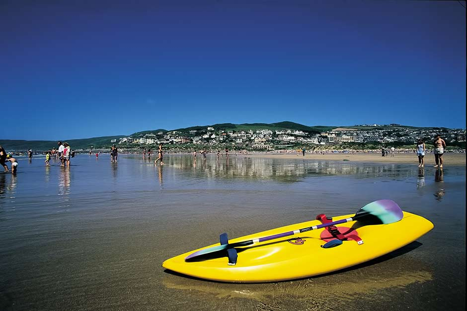 Self Catering Holiday Cottages In North Devon Near The Sea_Kayaking